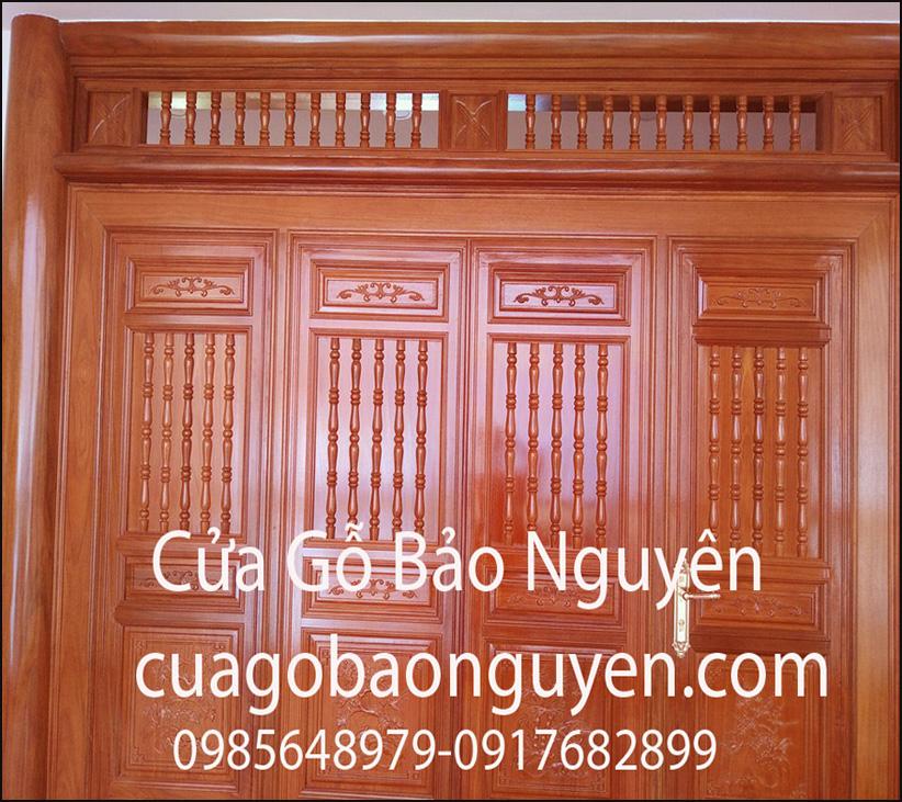 cửa gỗ bức bàn cho nhà thờ họ M20
