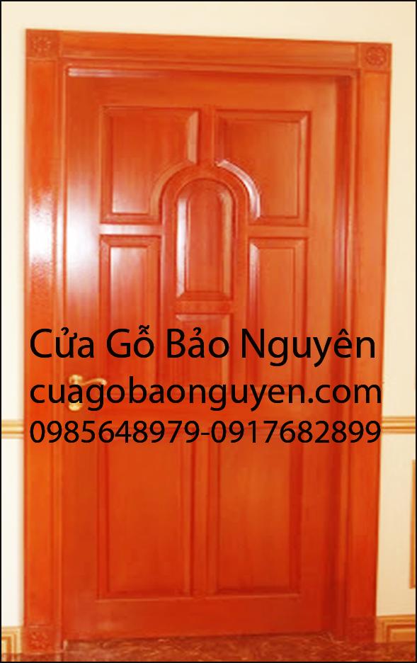mẫu cửa gỗ thông phòng ô mì gỗ lim đẹp M13