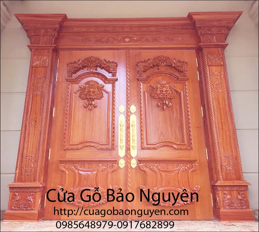 Giá cửa gỗ tại Huyện Đông Hưng Thái Bình