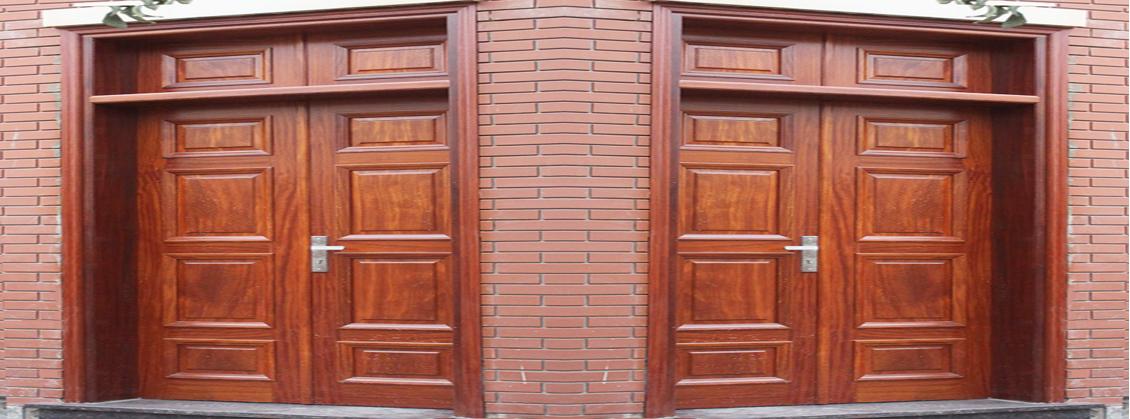 cửa 2 cánh gỗ lim nam phi đẹp đắp