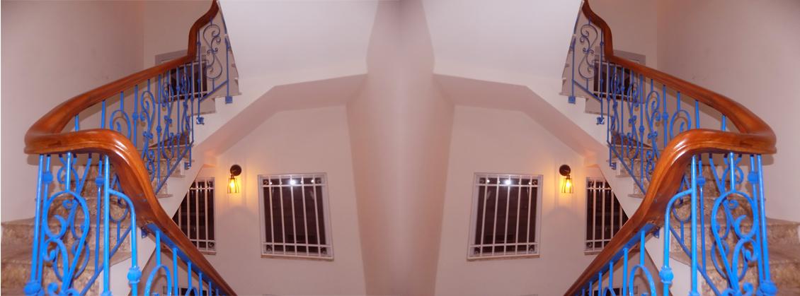 cầu thang sắt tĩnh điện