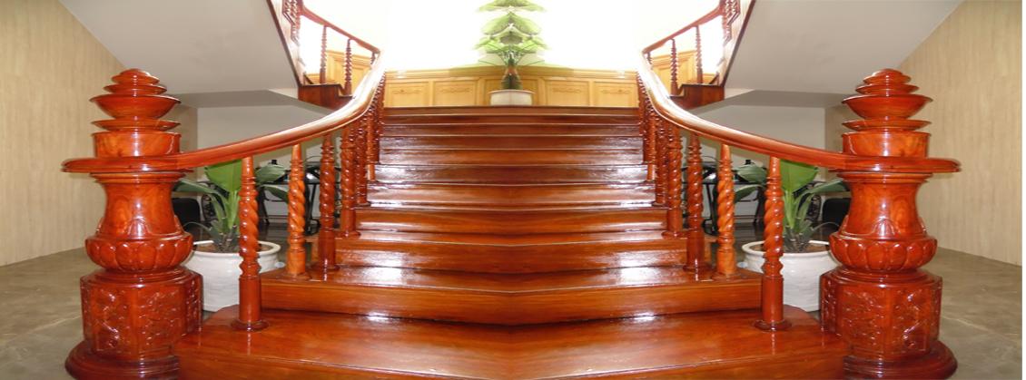 mẫu cầu thang ốp bậc đẹp